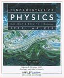 Fundamentals of Physics 9E Volume 2 Chapters 18-37 for So Methodist Univ, Walker, Jearl, 1118115627