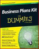 Business Plans Kit for Dummies, Steven D. Peterson and Peter Jaret, 111872562X
