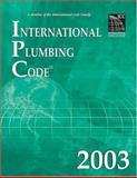 International Plumbing Code 2003, International Code Council Staff, 1892395622