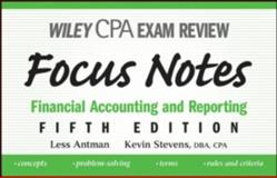 CPA Examination Review : Financial Accounting and Reporting, Antman, Less and Stevens, Kevin, 0470195622