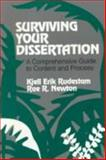 Surviving Your Dissertation : A Comprehensive Guide to Content and Process, Rudestam, Kjell E. and Newton, Rae R., 0803945639