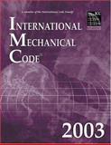International Mechanical Code 2003 : Looseleaf Version, International Code Council Staff, 1892395630