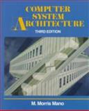 Computer System Architecture, Mano, M. Morris, 0131755633