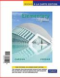 Elementary Algebra, Carson, Tom and Jordan, Bill E., 0321665635
