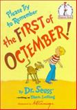 Please Try to Remember the First of Octember, Dr. Seuss, 0394935632