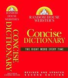 Random House Webster's Concise Dictionary, Random House Dictionary Staff, 0375425632