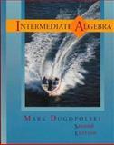 Intermediate Algebra, Dugopolski, Mark, 0201595648