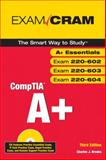Comptia A+ Exam Cram (Exams 220-602, 220-603, 220-604), Brooks, Charles J., 0789735644