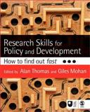 Research Skills for Policy and Development : How to Find Out Fast, , 141294564X
