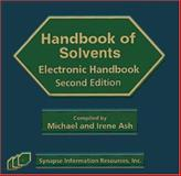 Solvents Electronic Handbook 9781890595647