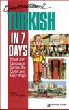 Conversational Turkish in 7 Days, Caga, Tayfun, 0844245658