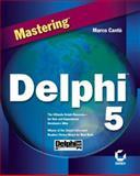 Mastering Delphi X, Cantu, Marco, 0782125654