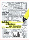 Statistics for Business and Economics, Newbold, Paul and Carlson, William, 0132745658