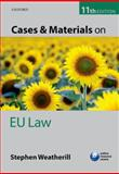 Cases and Materials on EU Law, Stephen Weatherill, 0199685665