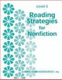 Reading Strategies for Nonfiction : Level 3, , 0760905665