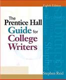 College Writers 2009, Reid, Stephen P., 0205735665