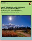 Weather of Petersburg National Battlefield and Richmond National Battlefield Park: Mid-Atlantic Network Summary Report For 2010, Paul Knight and Tiffany Wisniewski, 1492735663