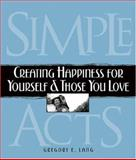 Simple Acts, Gregory E. Lang, 1581825668