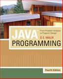 Java Programming : From Problem Analysis to Program Design, Malik, D. S., 1439035660