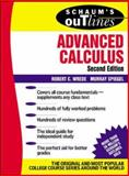 Advanced Calculus, Wrede, Robert C. and Spiegel, Murray, 0071375678