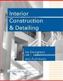 Interior Construction and Detailing for Designers and Architects, Ballast, David K., 0912045671