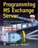 Programming MS Exchange Server 9780879305673