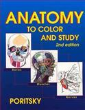 Anatomy to Color and Study, Poritsky, Ray, 1560535679