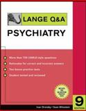 Lange Q and A Psychiatry 9780071475679