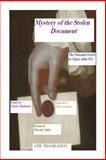 Mystery of the Stolen Document, Maryam Tajfar, 1495405672