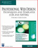 Professional Web Design : Techniques and Templates (CSS and XHTML), Eccher, Clint, 1584505672