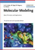 Molecular Modeling : Basic Principles and Applications, Folkers, Gerd and Rognan, Didier, 3527315683