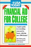 U. S. A. Today Financial Aid for College, Pat Ordovensky, 1560795689