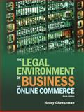 The Legal Environment of Business and Online Commerce, Cheeseman, Henry R., 0136085687