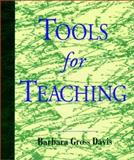 Tools for Teaching, Davis, Barbara Gross, 1555425682