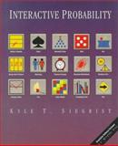 Interactive Probability, Siegrist, Kyle T., 0534265685