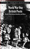 World War One British Poets, , 0486295680