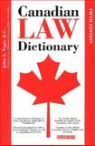 Canadian Law Dictionary, John A. Yogis and Steven H. Gifis, 0764125699