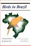 Birds in Brazil : A Natural History, Sick, Helmut, 0691085692