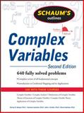 Schaum's Outline of Complex Variables, Spiegel, Murray R. and Lipschutz, Seymour, 0071615695