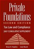 Private Foundations : Tax Law and Compliance, Hopkins, Bruce R. and Blazek, Jody, 0470135697