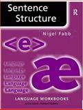 Sentence Structure 9780415085694