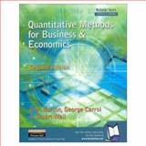 Quantitative Methods for Business and Economics, Burton, Glyn and Carrol, George, 0273655701