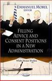Filling Advice and Consent Positions in a New Administration, Morel, Emmanuel, 1607415704