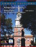 American History, Maddox, Robert James, 0072425709