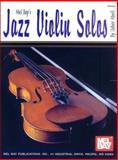 Jazz Violin Solos, Usher Abell, 1562225707
