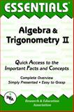 Algebra and Trigonometry II, Research & Education Association Editors, 0878915702