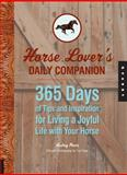 Horse Lover's Daily Companion, Audrey Pavia, 1592535704
