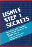 USMLE Step 1 Secrets, Brown, Thomas A. and Brown, David, 1560535709