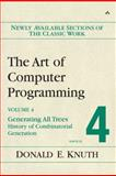 The Art of Computer Programming : Generating All Trees--History of Combinatorial Generation, Knuth, Donald Ervin, 0321335708