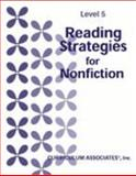 Reading Strategies for Nonfiction : Level 5,, 0760905703